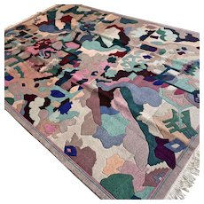9.7 x 6.6 Modern contemporary rug √ Free shipping