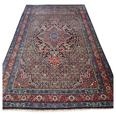 7.5 x 4.6 Antique 1880s collectors Oriental rug √ Free shipping