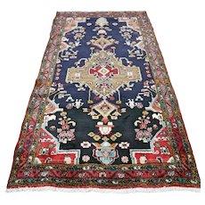 Dark bohemian Oriental rug - 6 x 3.4 √ Free shipping