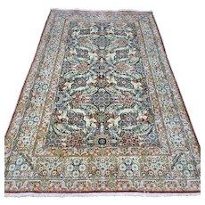 5 x 3 Silk Anatolian Hereke rug √ Free shipping