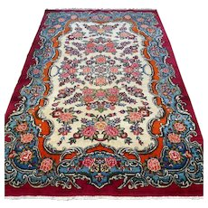 Free shipping - Luxury chic bohemian Oriental rug - special design - 6.8 x 4.4