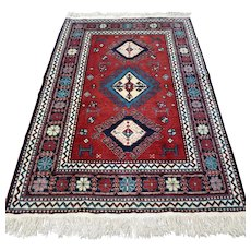 Free shipping - 5.6 x 3.8 Anatolian Kazak rug