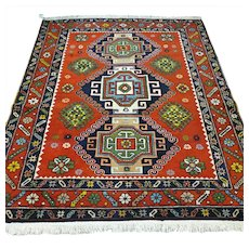 Free shipping - 6 x 4.9 Caucasian Kazak Oriental rug
