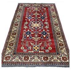 6.2 x 3.9 Afghan Kazak Oriental rug √ Free shipping