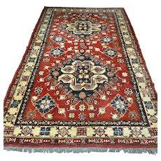 7.9 x 4.9 - Luxury Eagle Kazak Oriental rug √ Free shipping