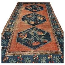 8.1 x 4.6 Antique 1870s Karabakh Caucasian Kazak rug √ Free shipping