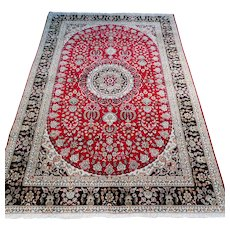 6 x 4 Beautiful silk bohemian collectors rug √ Free shipping