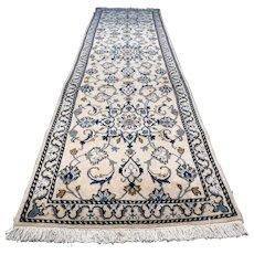 9.6 x 2.6 New luxury light chic Oriental runner rug √ Free shipping