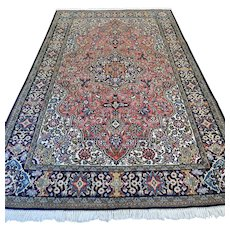 Free shipping - 8.6 x 5.3 Luxury Bohemian rug with silk
