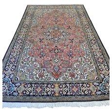 Free shipping - 8.6 x 5.3 Luxury Bohemian rug with silk