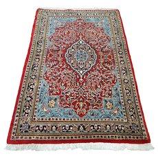 Free shipping - Modern bohemian Oriental rug - 5.4 x 3.5