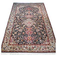 Free shipping - Vintage antique bohemian rug - 6.5 x 4.3 - early 1900s