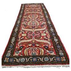 Free shipping - Luxury bohemian Oriental runner rug - 6.9 x 2.5