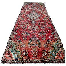 8.7 x 3.1 - Luxury shabby chic Oriental rug √ Free shipping
