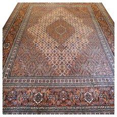 Luxury oversized bohemian design Oriental rug- 12.1 x 8.7 √ Free shipping