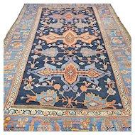 7.9 x 5.4 Antique tribal 1880s Caucasian Kazak rug √ Free shipping