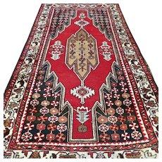 Free shipping - 11 x 3 Vintage bohemian dragon rug
