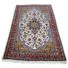 Free shipping - 5.4 x 3.7 - Luxury light bohemian Oriental rug