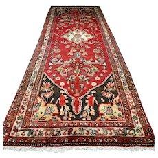 9.8 x 3.1 Classic bohemian Oriental runner rug √ Free shipping