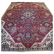 Free shipping - 11.5 x 8.2 Luxury vintage bohemian Oriental rug