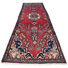 Free shipping - 8.5 x 2.8 - Luxury shabby chic bohemian Oriental rug √ CLEAN AS NEW