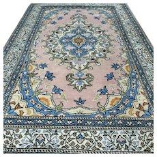 Free shipping - 5.9 x 3.9 Pink Anatolian Kayseri rug