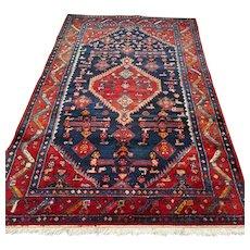 7.2 x 4.5 Vintage tribal Bohemian Oriental rug √ Free shipping