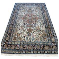 Free shipping - 7.2 x 4.6 Luxury bohemian Kashmir rug