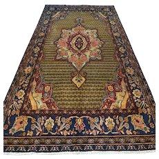 Free shipping - 9.2 x 4.9 Luxury large bohemian Oriental rug