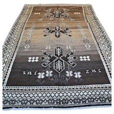 10.2 x 6.9 Large Tribal Gabbeh Oriental rug √ Free shipping