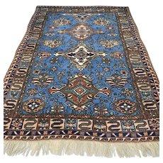 7.3 x 5.2 Antique 1920s Caucasian Karabakh Kazak rug √ Free shipping