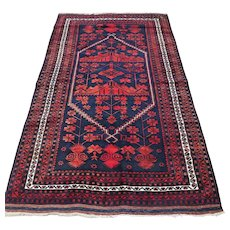 Free shipping - 6.3 x 3.8 Tribal Anatolian Kazak Oriental rug
