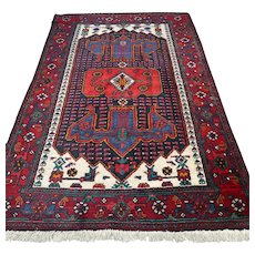 6.8 x 4.5 Special design tribal Oriental rug √ Free shipping