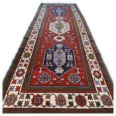 Free shipping - 9.1 x 2.8 Anatolian Kazak runner rug