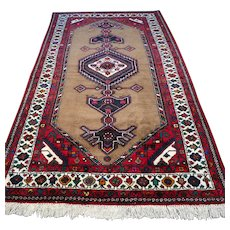 Free shipping - 8.1 x 4.7 Tribal Anatolian Oriental rug