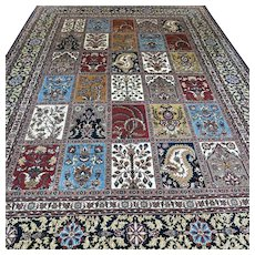 Free shipping - 11.5 x 8.1 Luxury oversized tile design Oriental rug