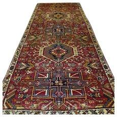 Free shipping - 8.5 x 3.3 Antique bohemian Oriental Persian rug √ CLEAN AS NEW