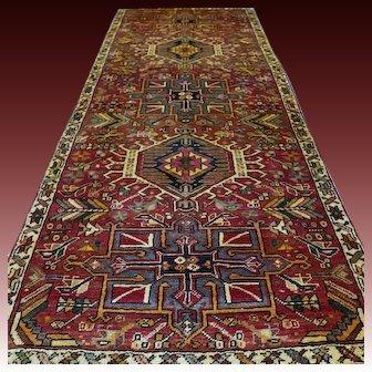 8.5 x 3.3 Antique bohemian Oriental rug √ Free shipping