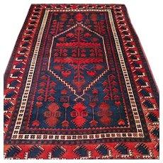 Free shipping - 5.9 x 3.8 Anatolian Kazak rug √ CLEANED