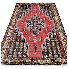 6.3 x 3.8 Vintage Kurdish Oriental rug √ Free shipping