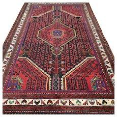 6 x 3.7 Bohemian tribal Oriental rug √ Free shipping