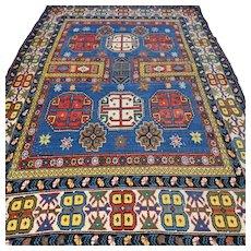 6.1 x 4.2 Vintage Caucasian Kazak rug √ Free shipping