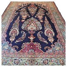 9.8 x 6.4 Large decorative bohemian Oriental rug √ Free shipping