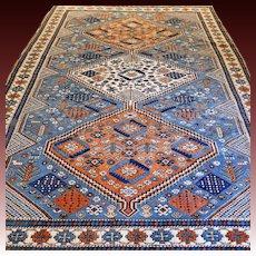 9.3 x 6.7 Impressive Anatolian Kazak rug √ Free shipping
