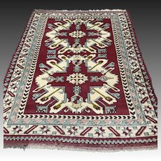 5.9 x 4.5 Anatolian Eagle Kazak rug √ Free shipping
