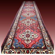 13.8x2.7 Luxury perfect extra long Anatolian runner √ Free shipping
