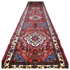 13.1x2.8 Perfect extra long colorful Anatolian runner √ Free shipping