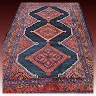 5.4x3.7 Vintage Oriental Kazak rug √ Free shipping