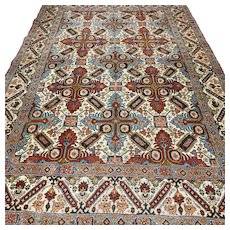 6.6x4.4 Rare Kazak design Oriental rug √ Free shipping