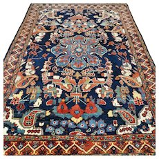 6.6 x 4.5 Colorful Bohemian rug √ Free shipping